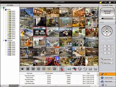 Screenshoot Software CMS CCTV